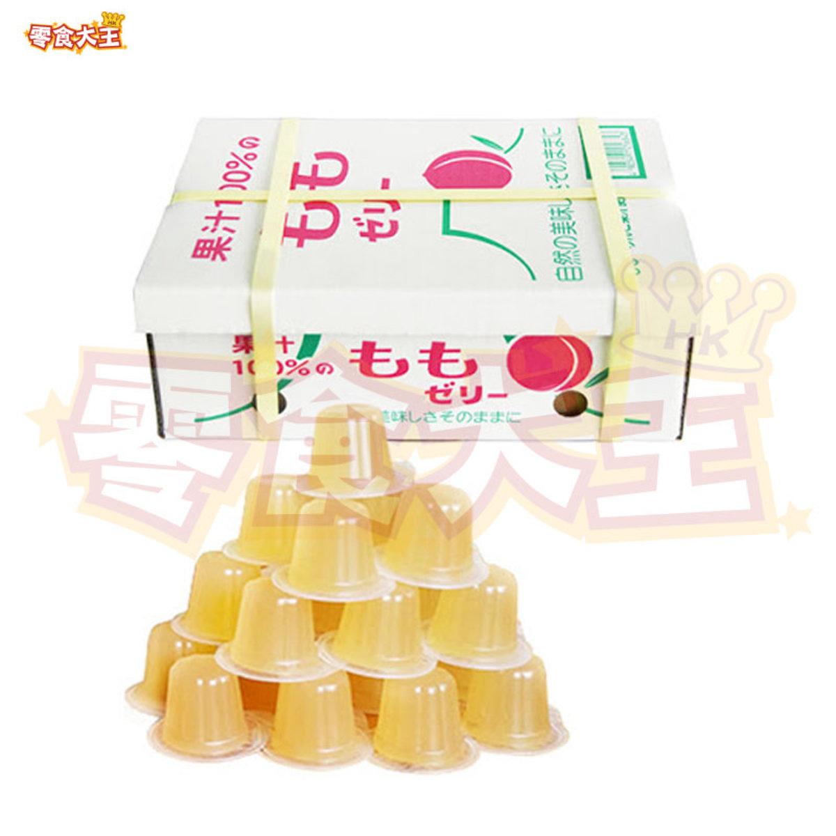 和歌山100%水蜜桃果汁啫喱 (23粒) 552g (4905491256843)