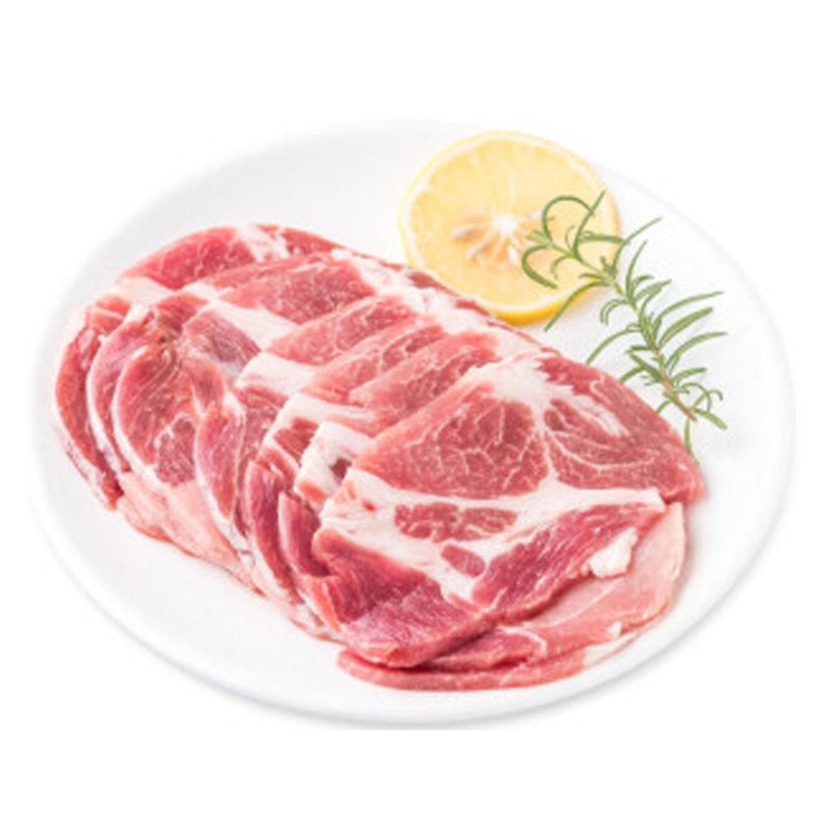 Brazil Frozen Pork Collar Slices 200g (SKU_08547)