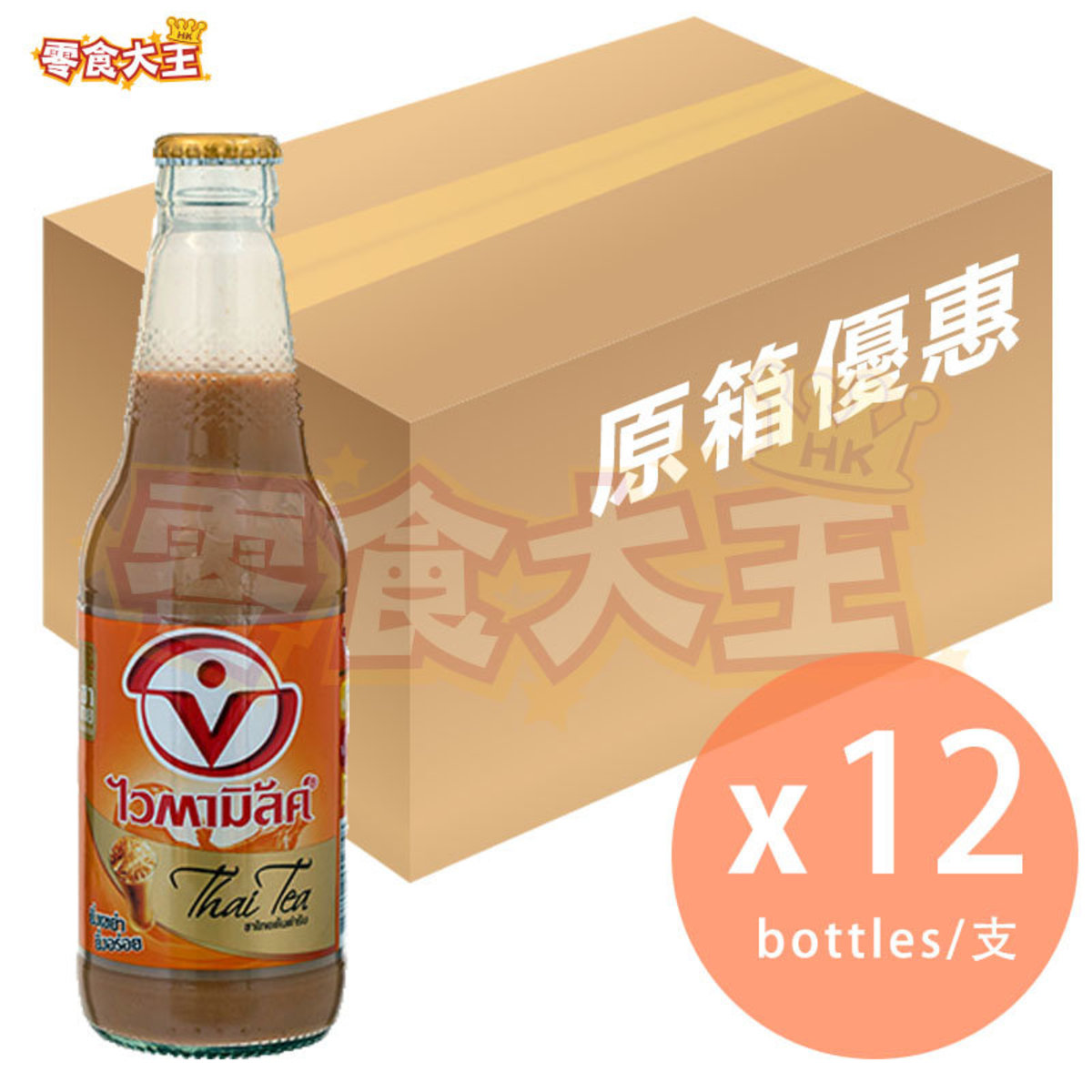[Full Case] Thaitea Soymilk Togo 300ml x 12 bottles (8851028002758_12)