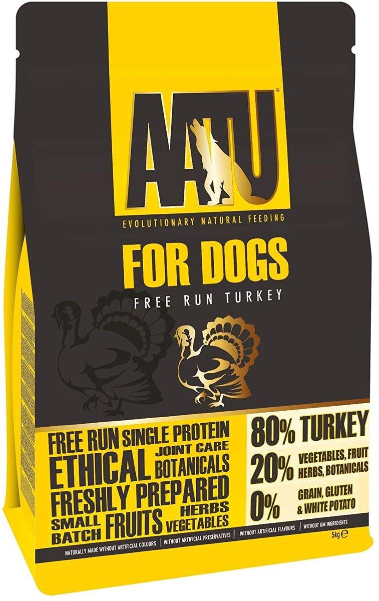 80/20 Free Run Turkey for Dogs (5kg) ATT5