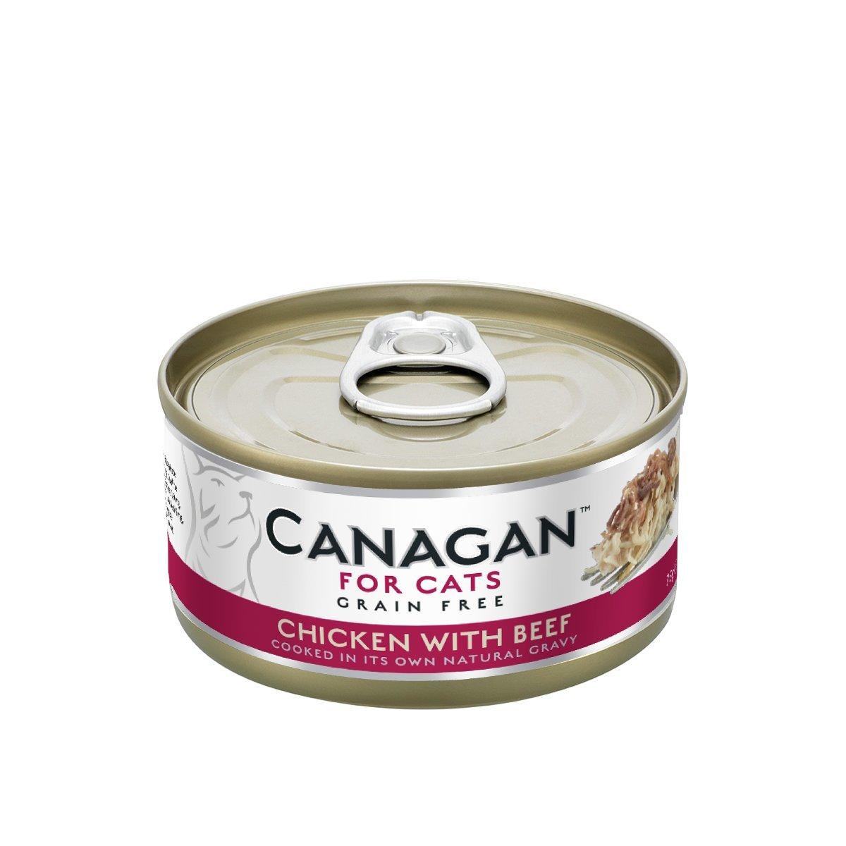 雞肉伴牛肉貓罐頭 (75g) #WE75