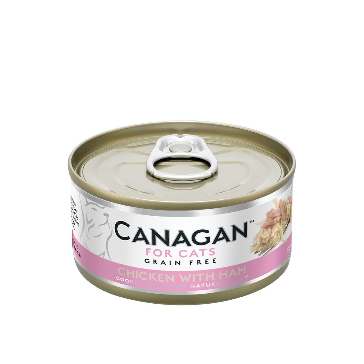 Chicken with Ham for Cats (75g) #WH75