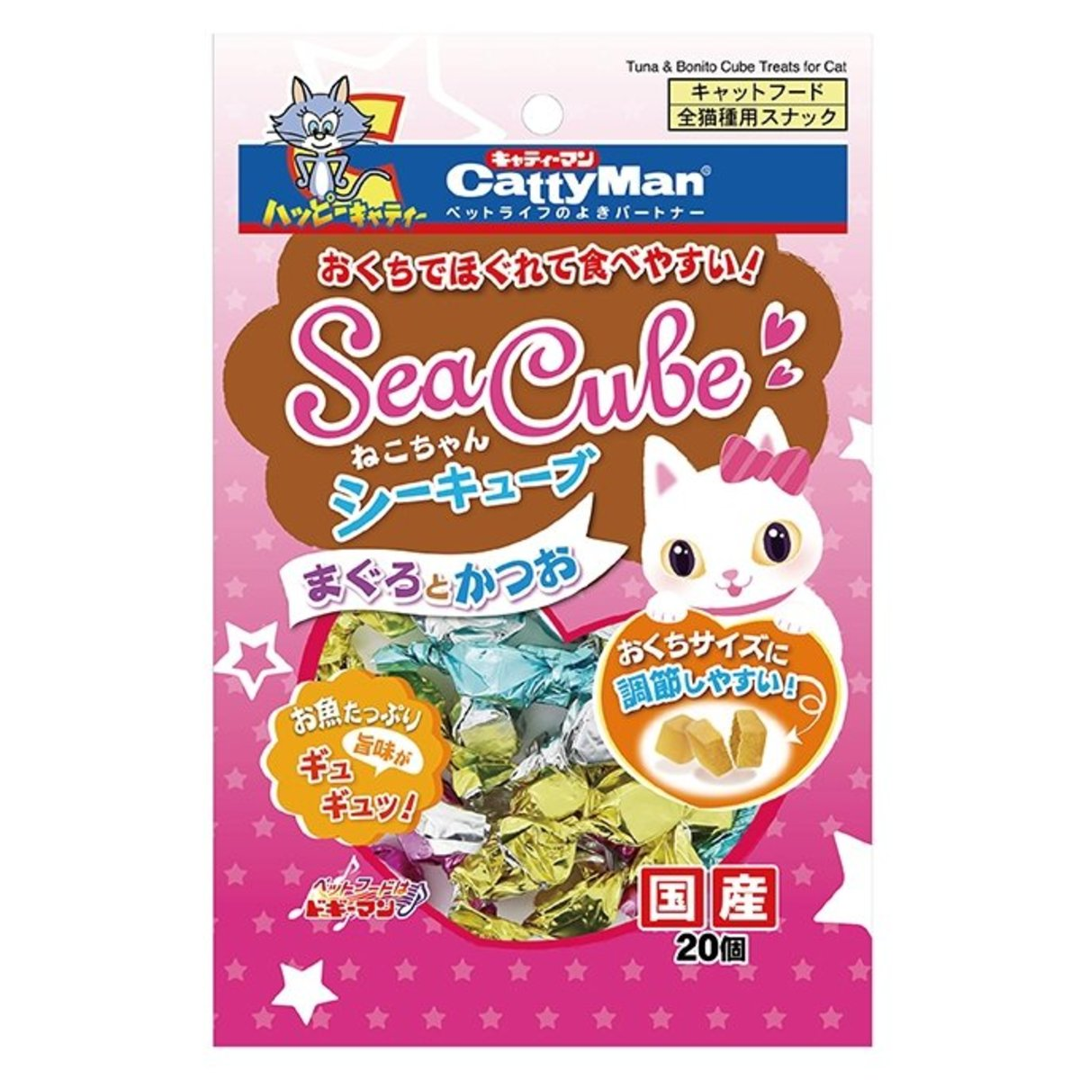 Catty Sea Cube Tuna & Bonito (20pcs) #82005 C5