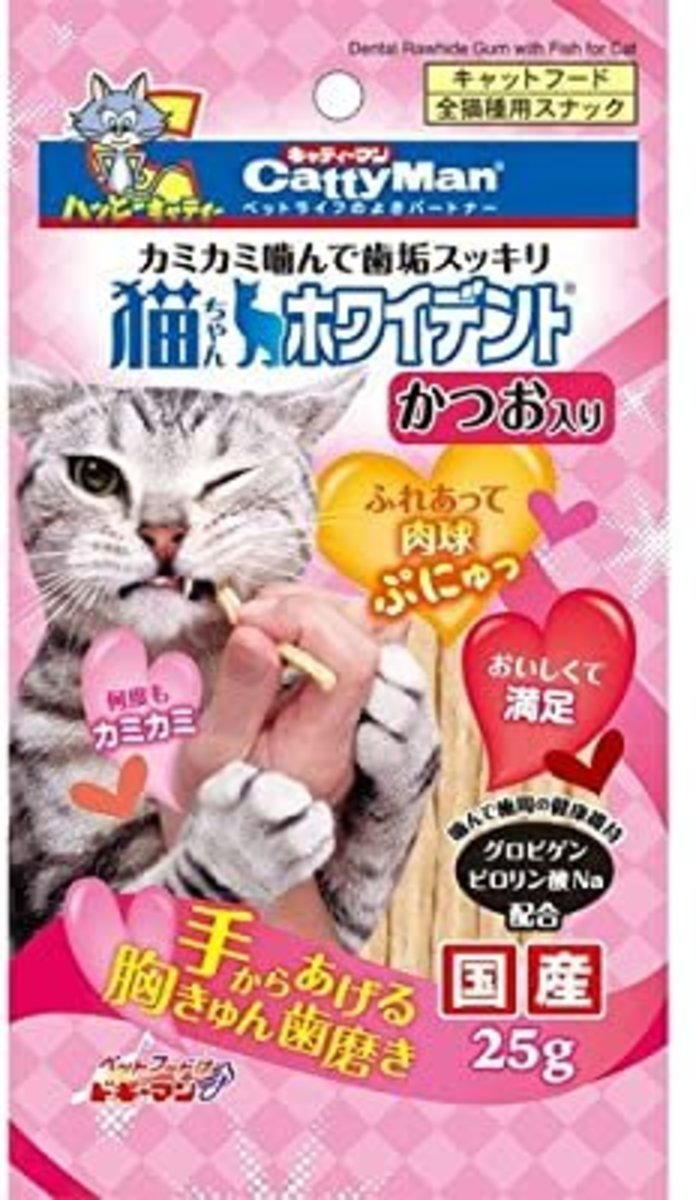Catty Whident with Bonito Flavor (25g) #82016 C4