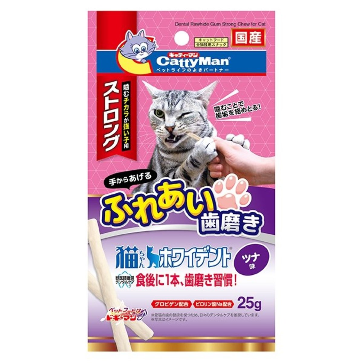 Catty Whident Strong with Tuna (25g) #82061 C4