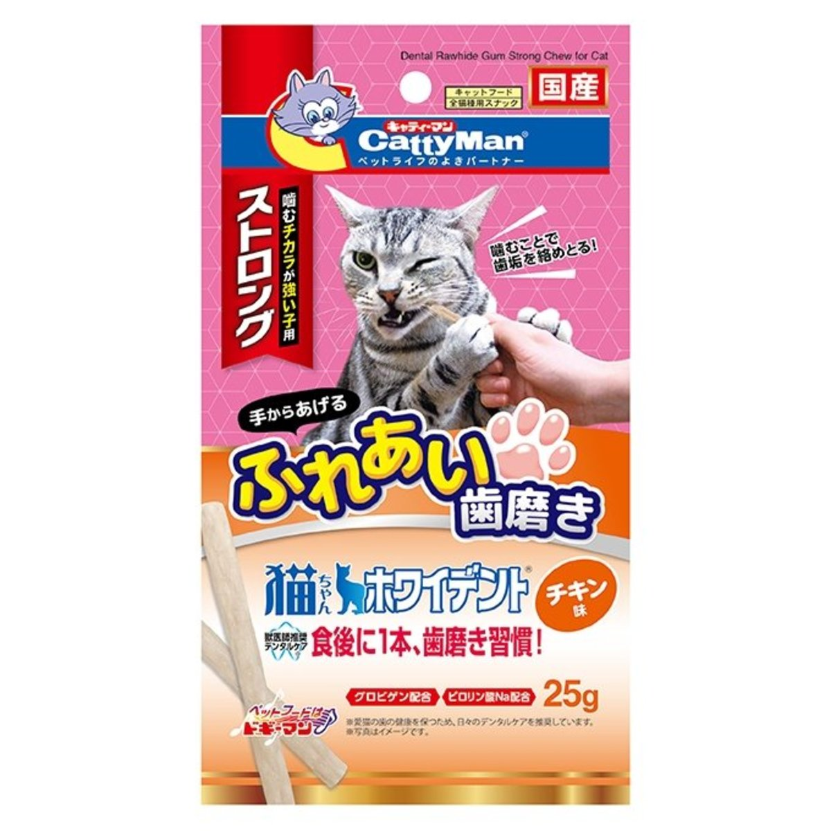 Catty Whident Strong with Chicken (25g) #82062 C4