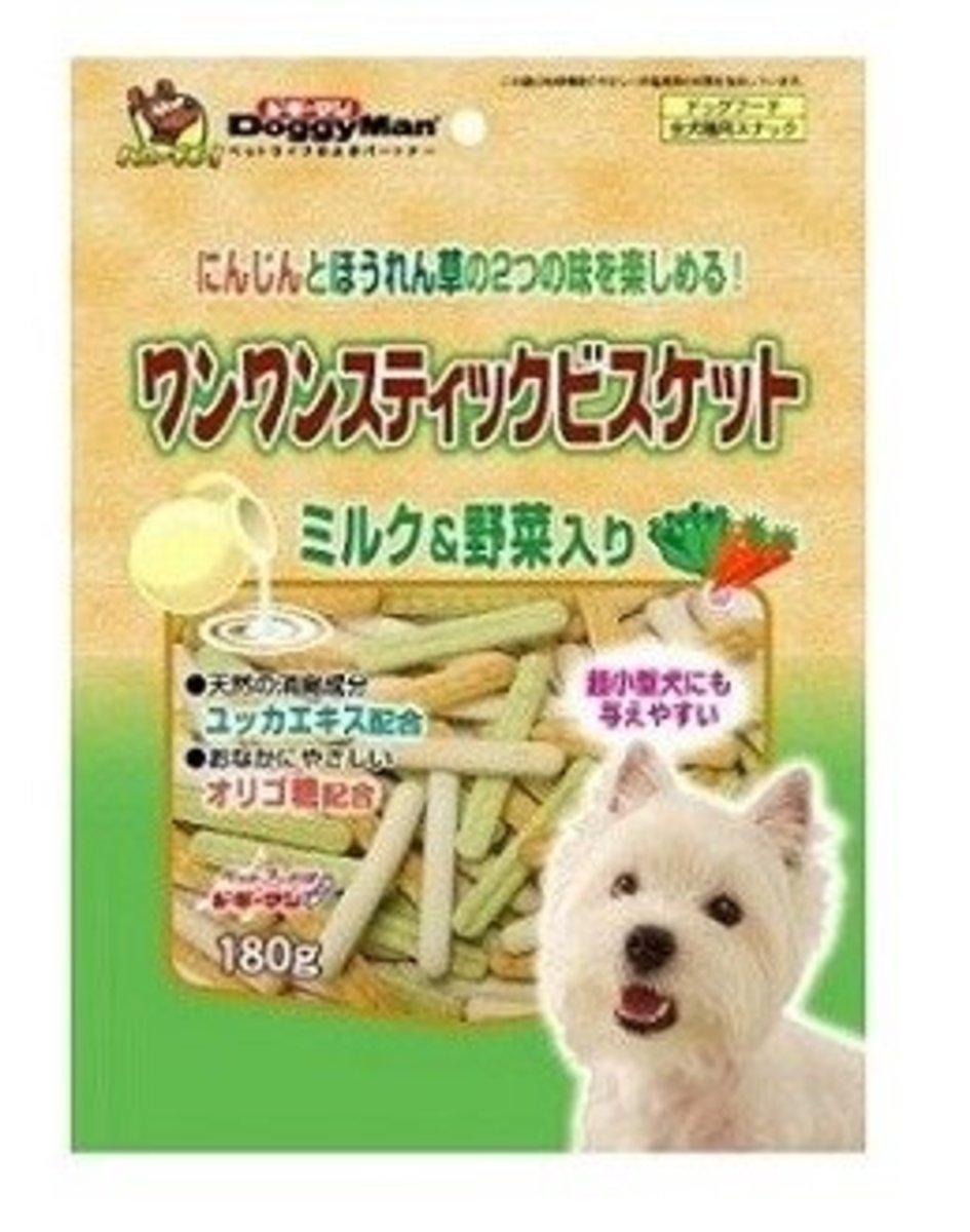 牛奶野菜手指餅 (180g) #80711 B5