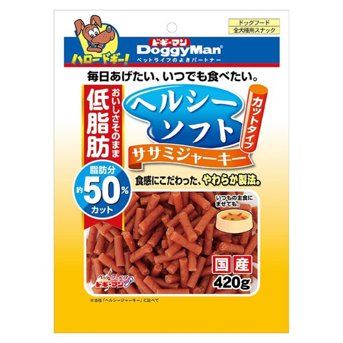 Healthy Soft Sasami Jerky Cut (420g) #81958 R