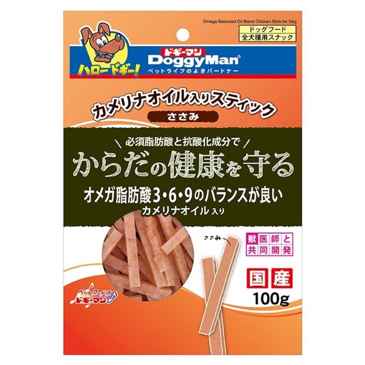亞米茄美毛健康雞肉條 (100g) #82238 B4