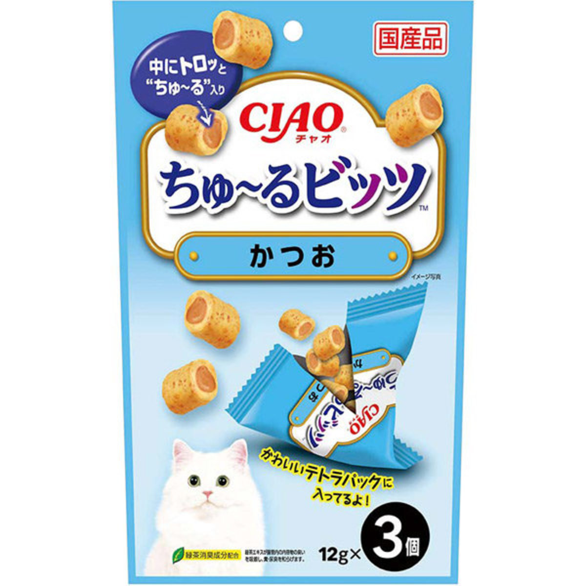 CIAO Churubi - Skipjack Flavour (3pcs) #CS-173