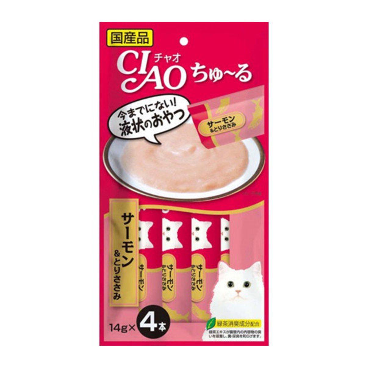 CIAO Churu Chicken & Salmon Puree (14g x 4) #SC-146