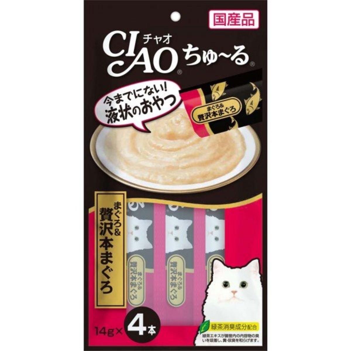CIAO Churu Luxury Tuna Puree (14g x 4) #SC-150