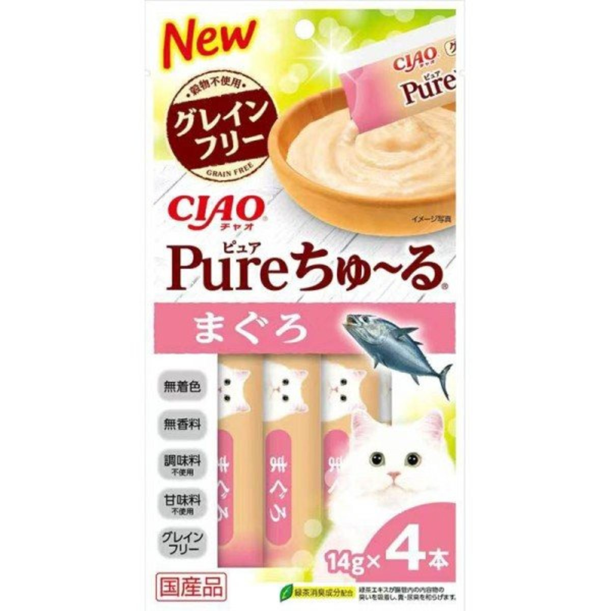 CIAO PURE Tuna Puree (14g x 4) #SC-321
