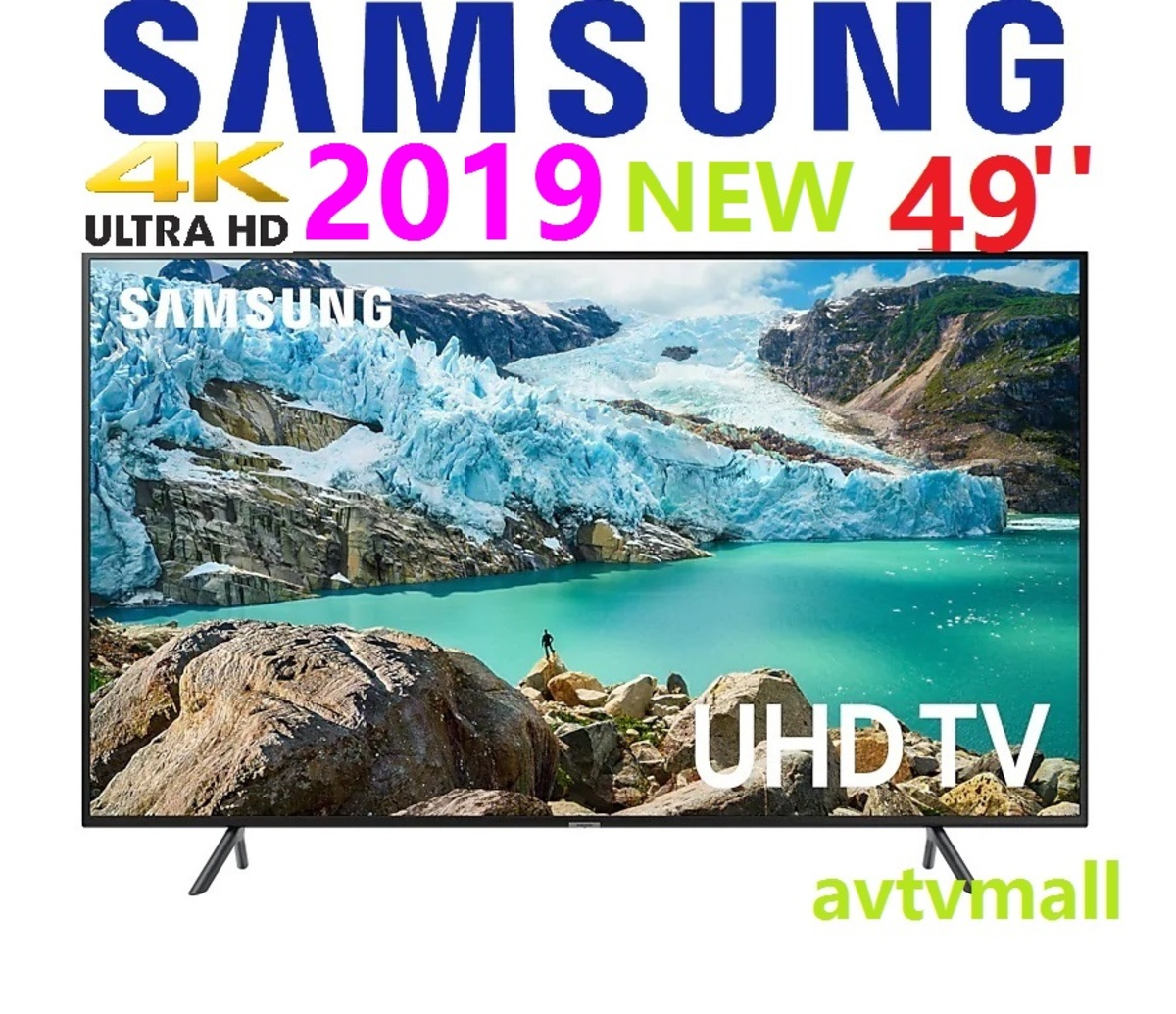 UA 49RU7100 49'' 4K HDR10+ Smart TV UHD RU7100 (3 年行貨保用)