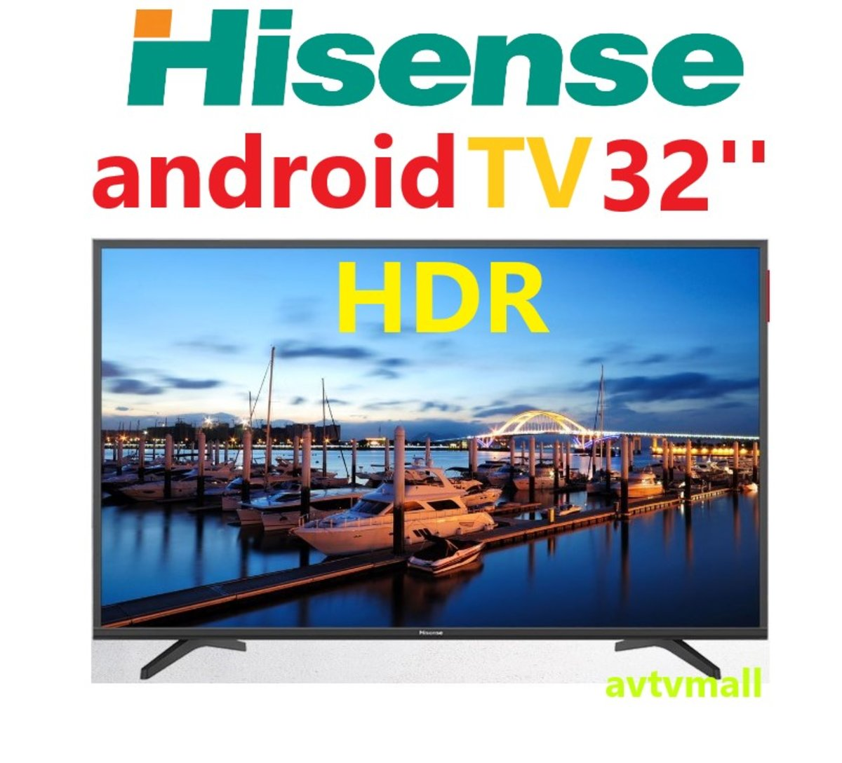 HK32A36 32''Android HDR TV (5 YEAR WARRANTY )