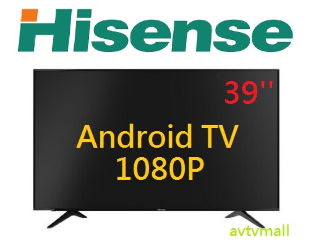 39吋安卓系統全高清智能電視 HK39A36 3年行貨保用