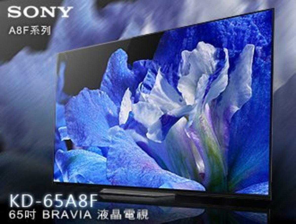 65 A8F OLED 4K(HDR) ANDROID TV 3 YEAR WARRANTY KD-65A8F