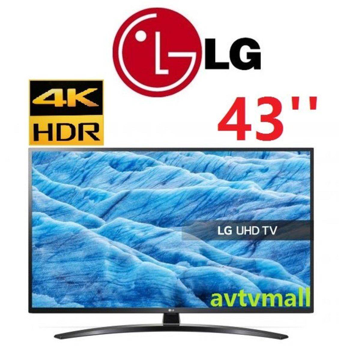 43um7400 4K HDR Smart TV 智能電視 (3年 行貨保用)