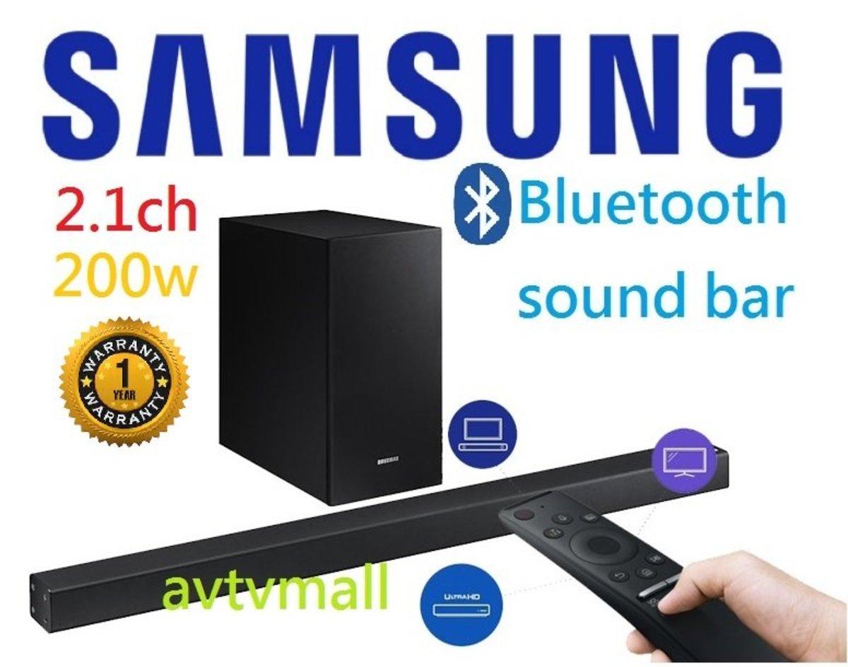 HW-R450 2.1ch 200w bluetooth sound bar speaker (1 year warranty) 聖誕限時購