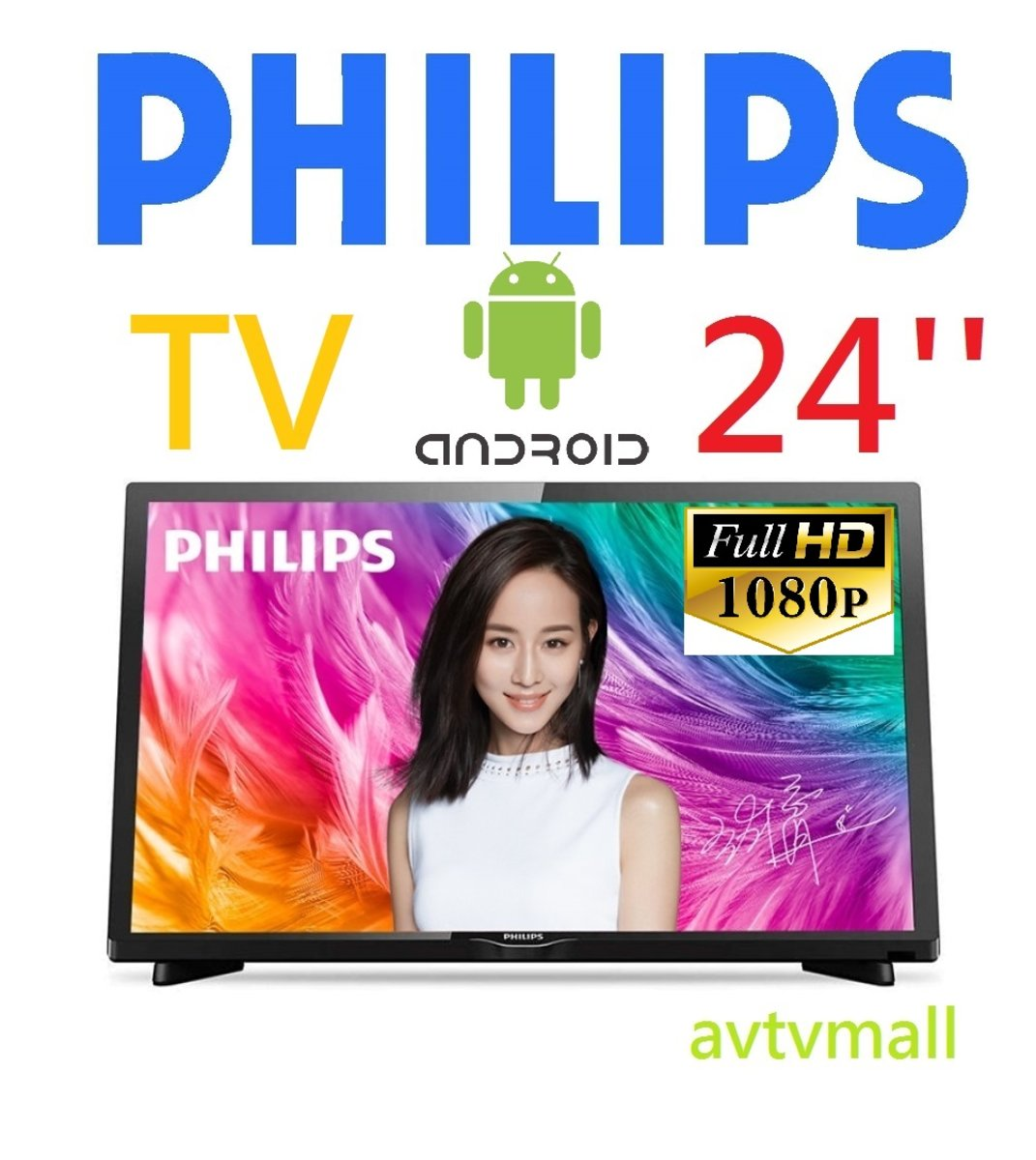 1080p Android TV- 24pfd5022 3 YEAR WARRANTY