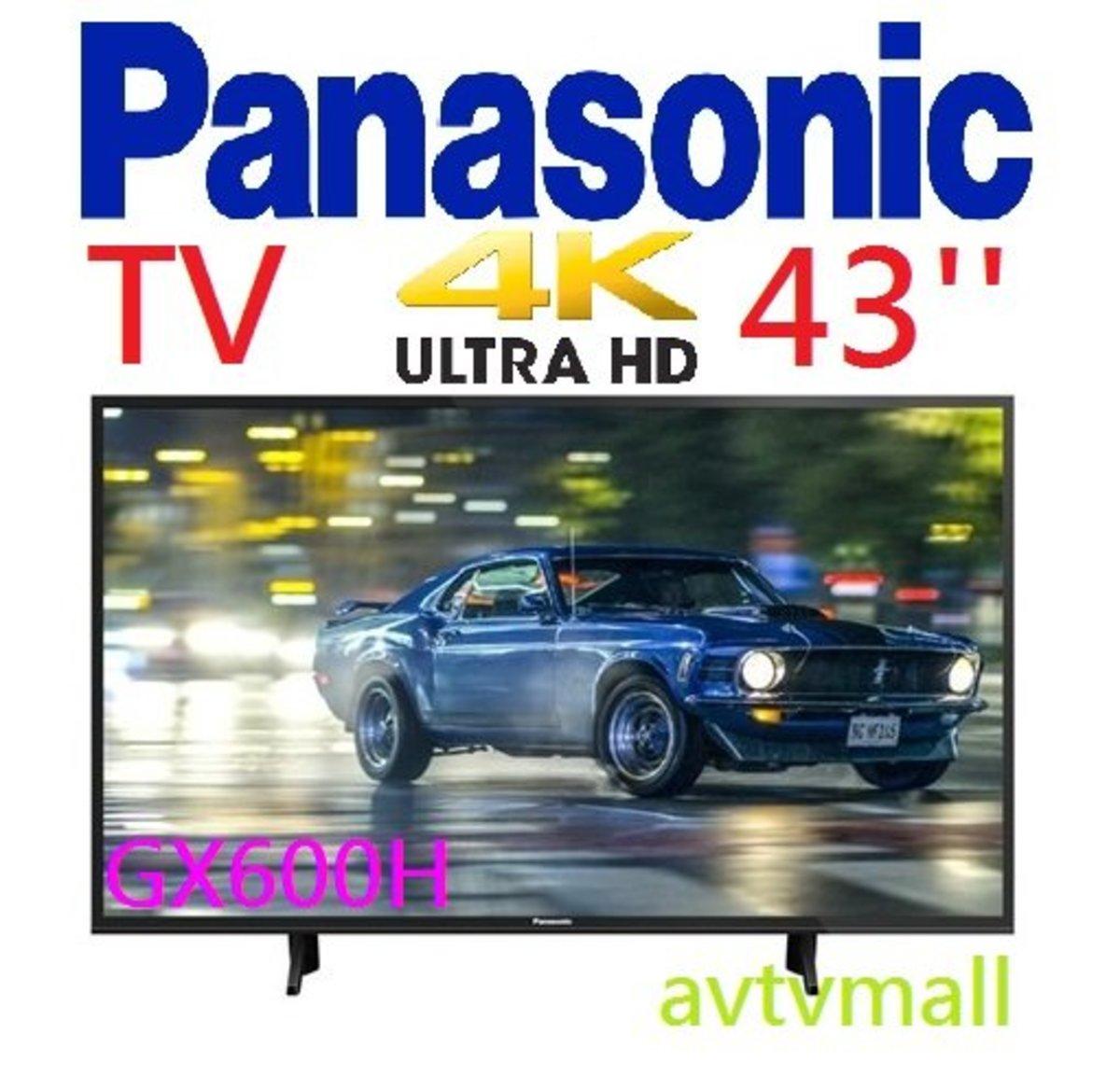 TH 43GX600H 4K HDR10 HLG SMART TV (5 YEAR WARRANTY)