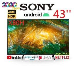 SONY 43X8000H 43'' 4K Android TV HDR Google play 智能電視 香港行貨 3年保用