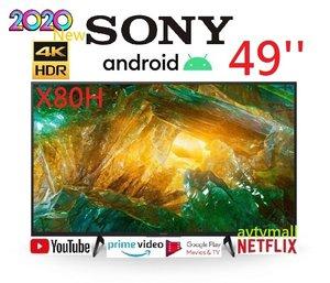 SONY 49X8000H 49'' 4K Android TV HDR Google play 智能電視 香港行貨 3年保用