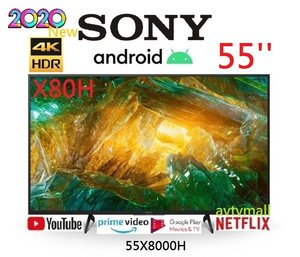 SONY 55X8000H 55'' 4K Android TV HDR Google play 智能電視