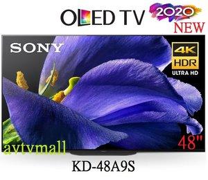 SONY KD-48A9S  MASTER SERIES OLED 4K ULTRA HD 高動態範圍 HDR 智能電視ANDROID Google TV 香港行貨 3年保用