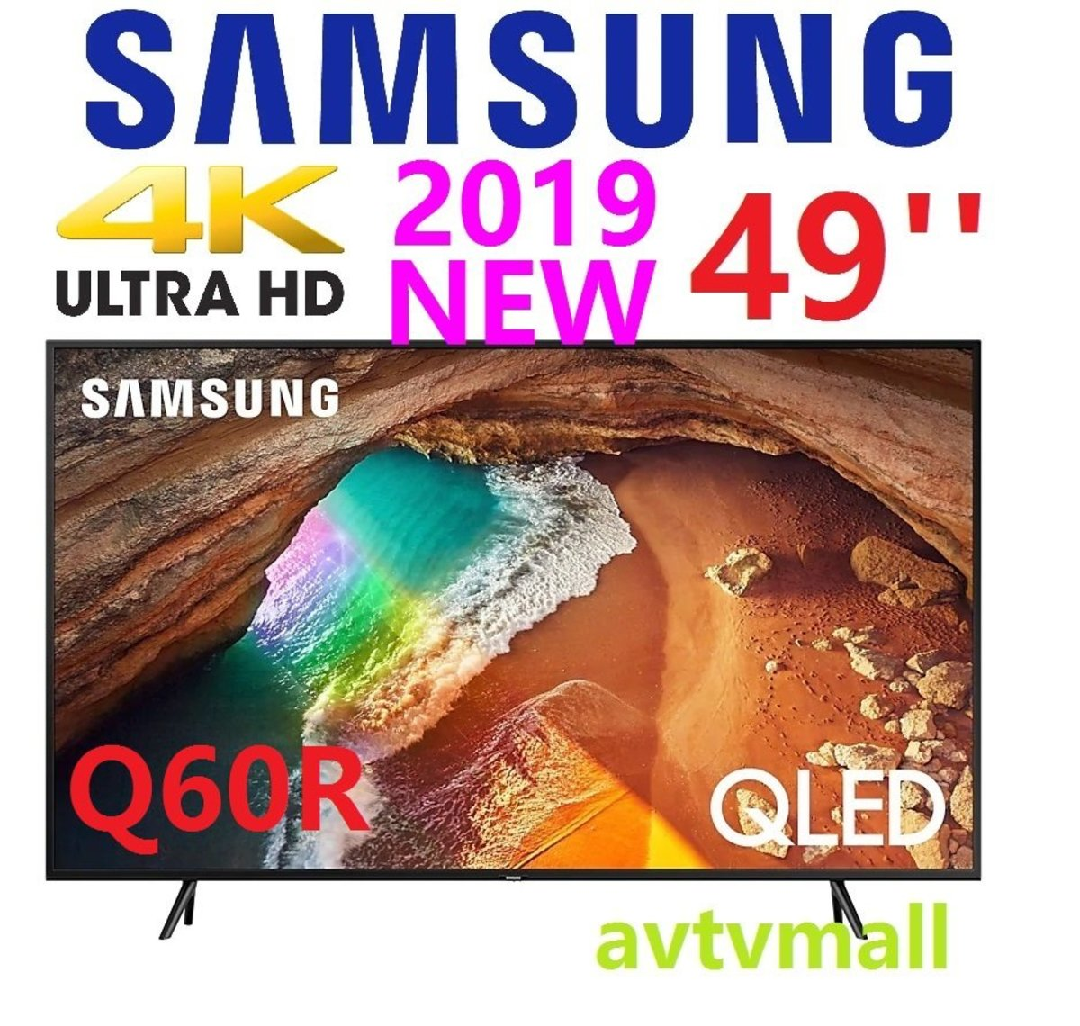 49 QLED 4K HDR 10+ Smart TV QA49Q60RA (3 YEAR WARRANTY)