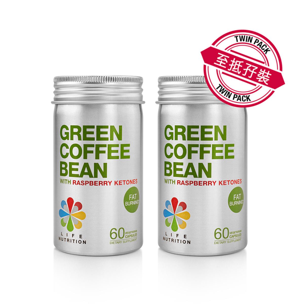 青咖啡豆纖型配方 GCB (60粒) - 孖裝