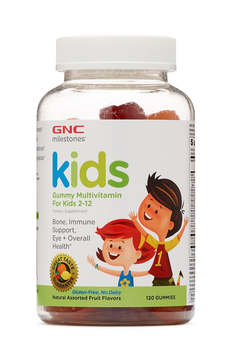 多種維生素兒童軟糖 (2-12歳) 120粒
