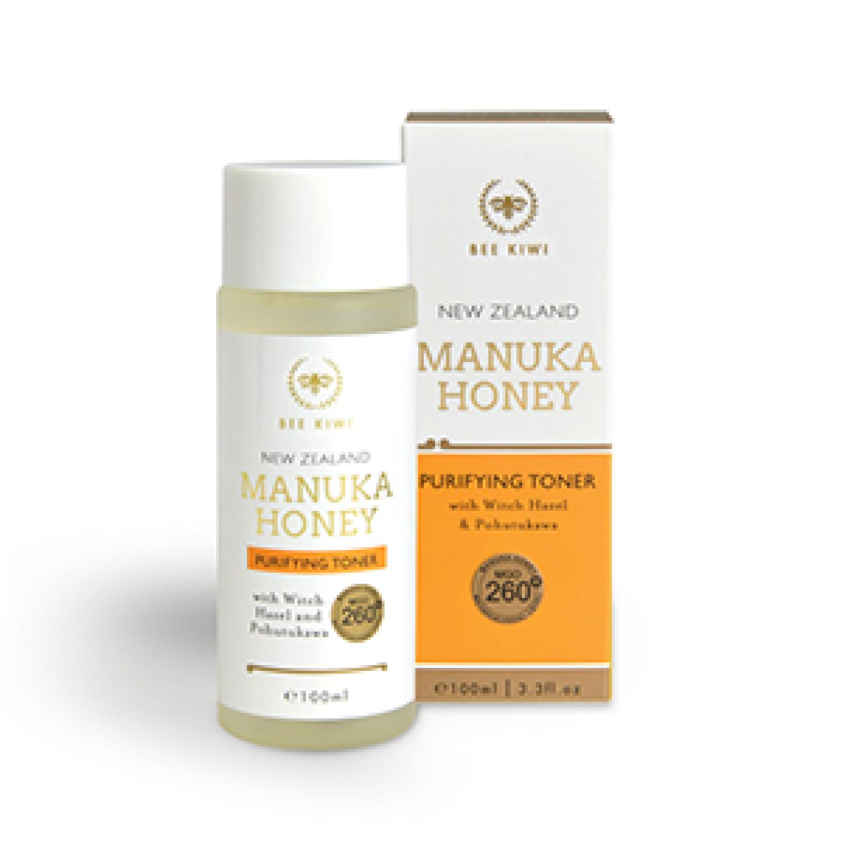 Bee Kiwi Manuka Honey Purifying Toner 100ml