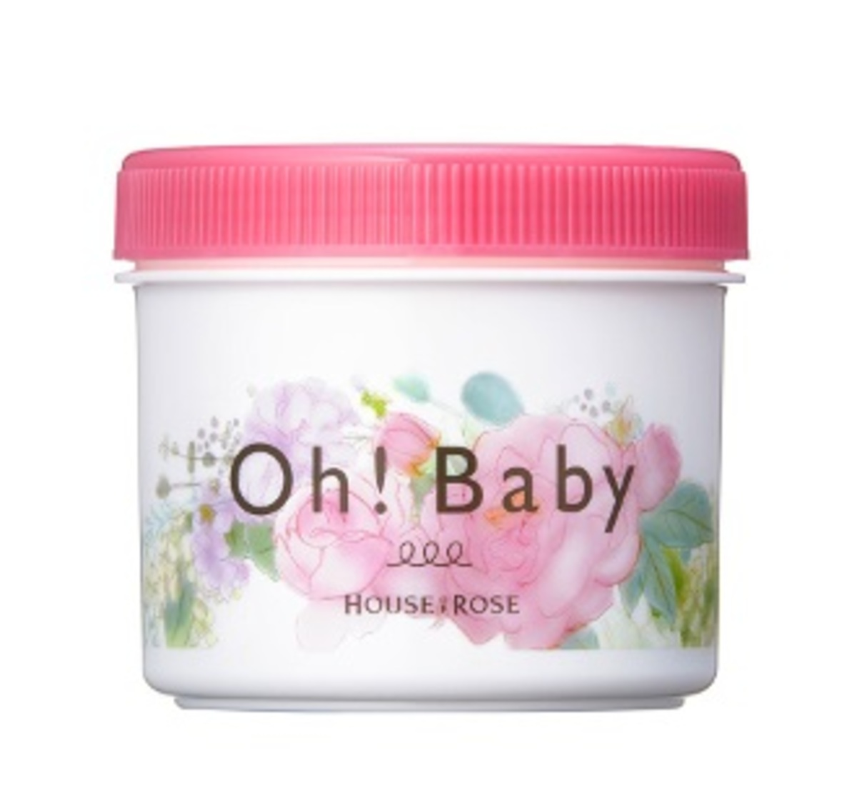 Oh! Baby Rose & Flower Body Smoother 350g