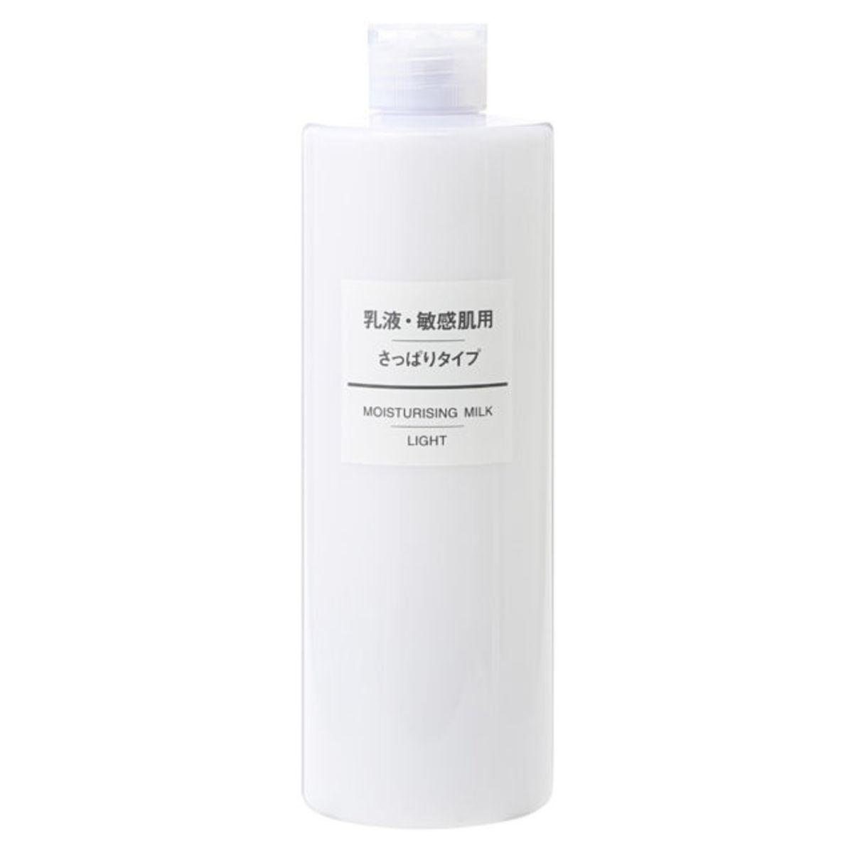 敏感肌滋潤乳液(清爽) 400ml