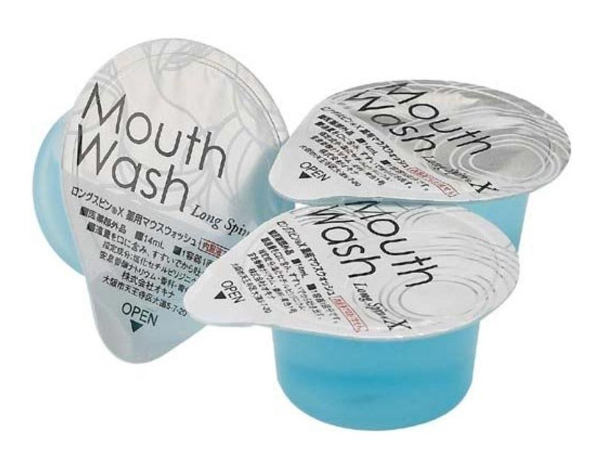Mouthwash Long Spin (Mint - Blue) 10pcs