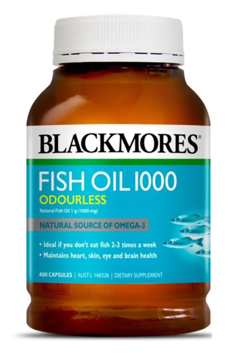 無腥味魚油丸1000mg 400粒