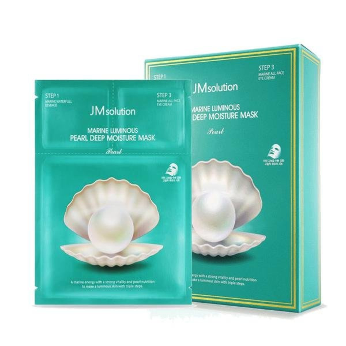 Marine Luminous Pearl Deep Moisture 3 Step Mask 10pcs