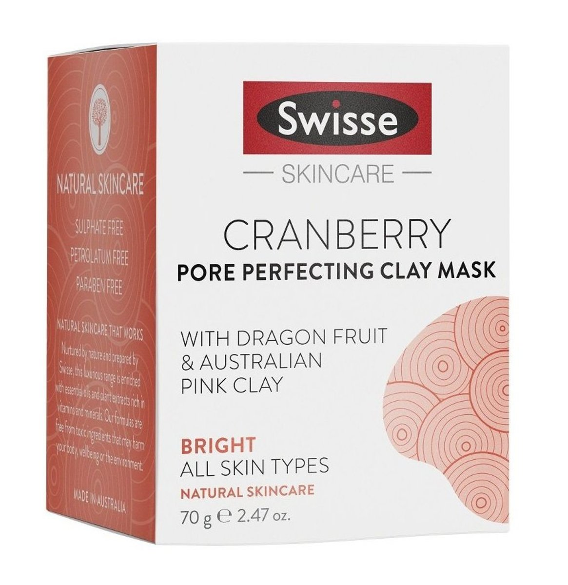 Cranberry Pore Perfecting Clay Mask 70g