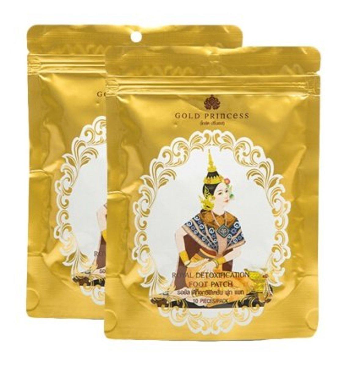 泰國皇家艾草祛濕養生足貼 10貼 - 2包