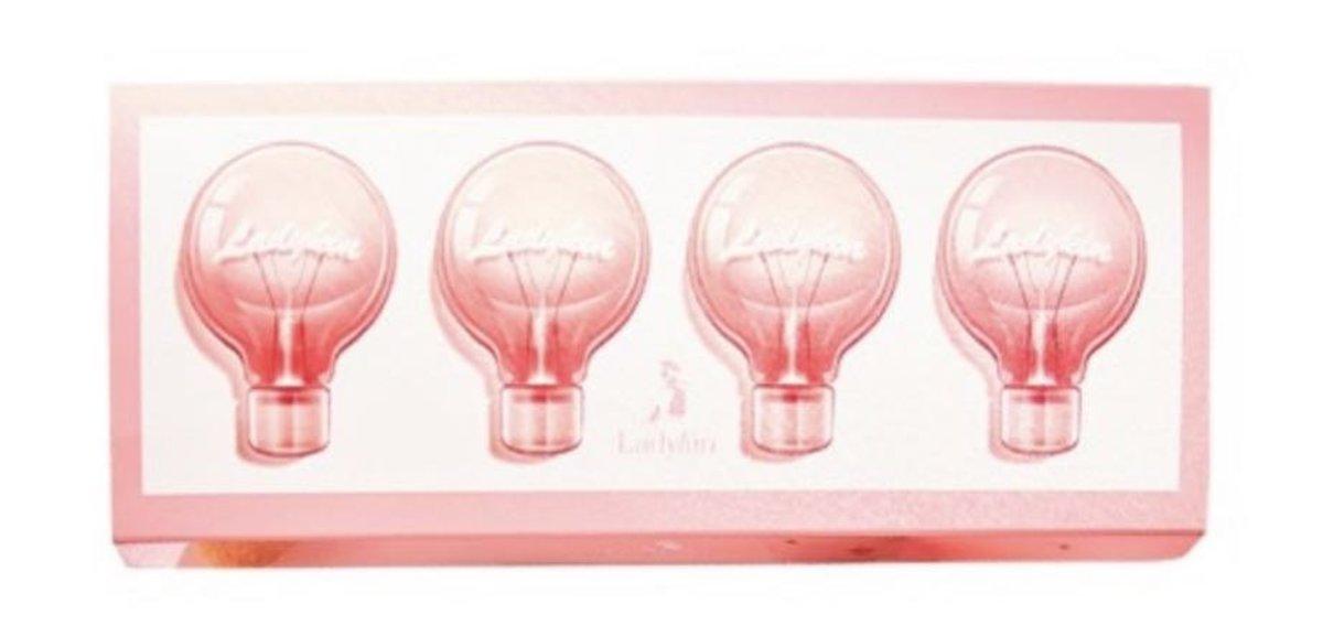 Light Bulb Facial Serum Whitening Repair Firming 120pcs