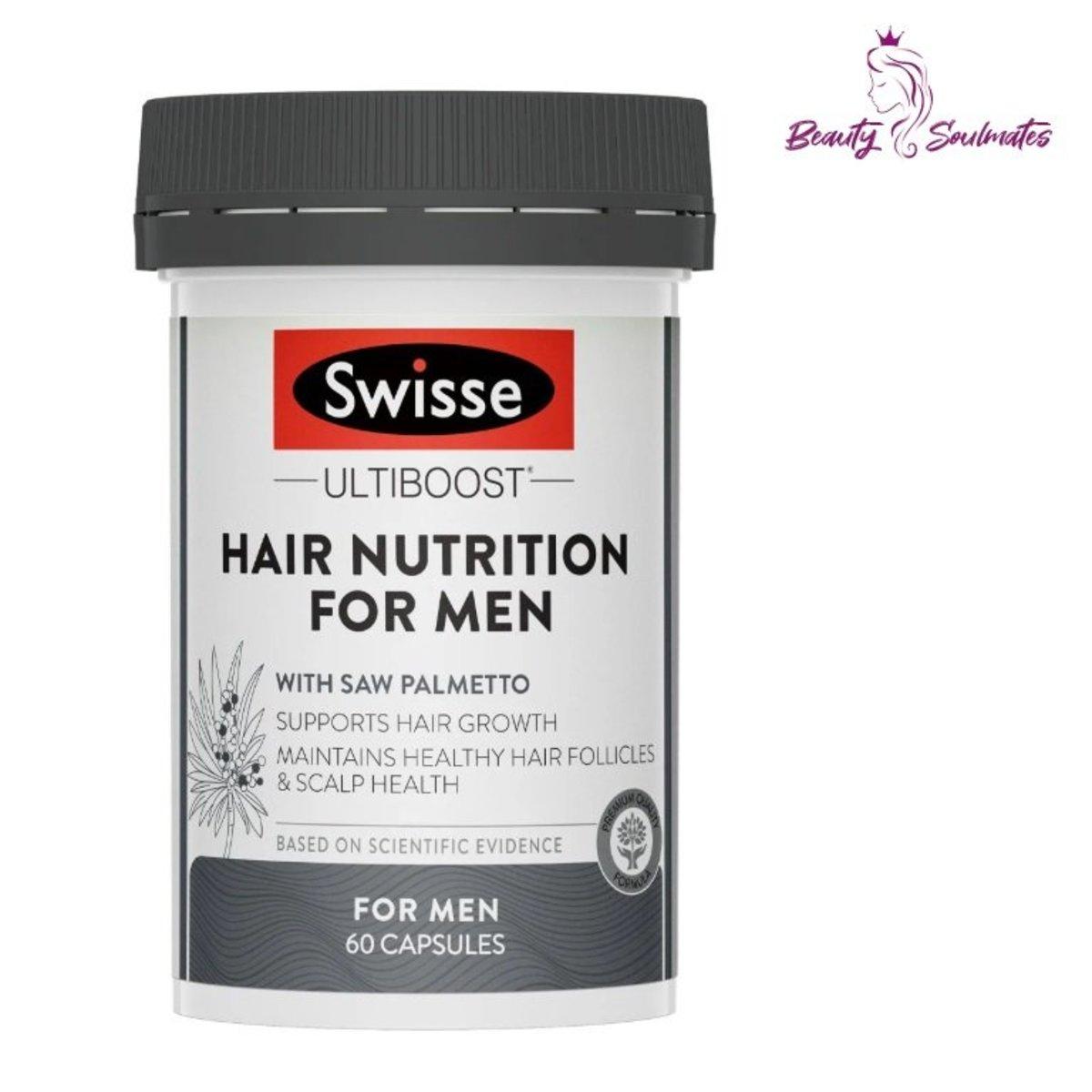 Ultiboost Hair Nutrition For Men 60caps