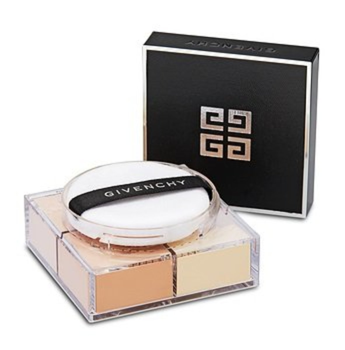 Mat-Finish & Enhanced Radiance Loose Powder 4 In1 Harmony Prisme Libre #2 Taffetas Beige 4x3g