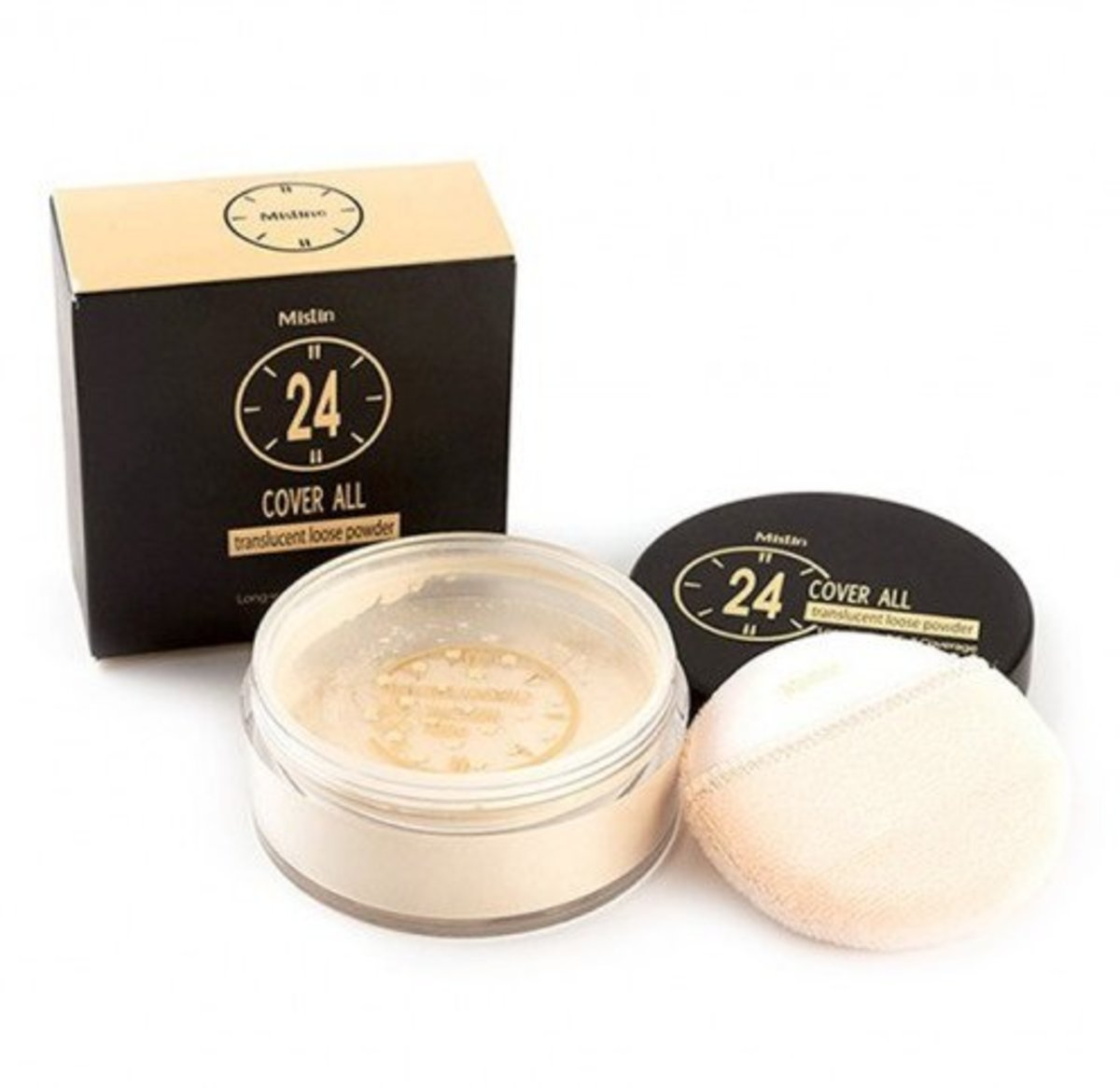 24 cover all translucent loose powder 22g