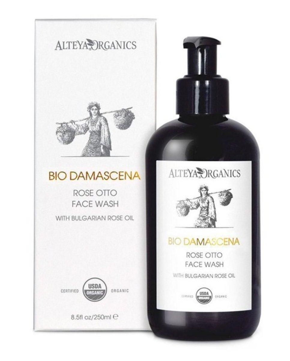 Bio Damascena Organic Rose Face Wash 250ml