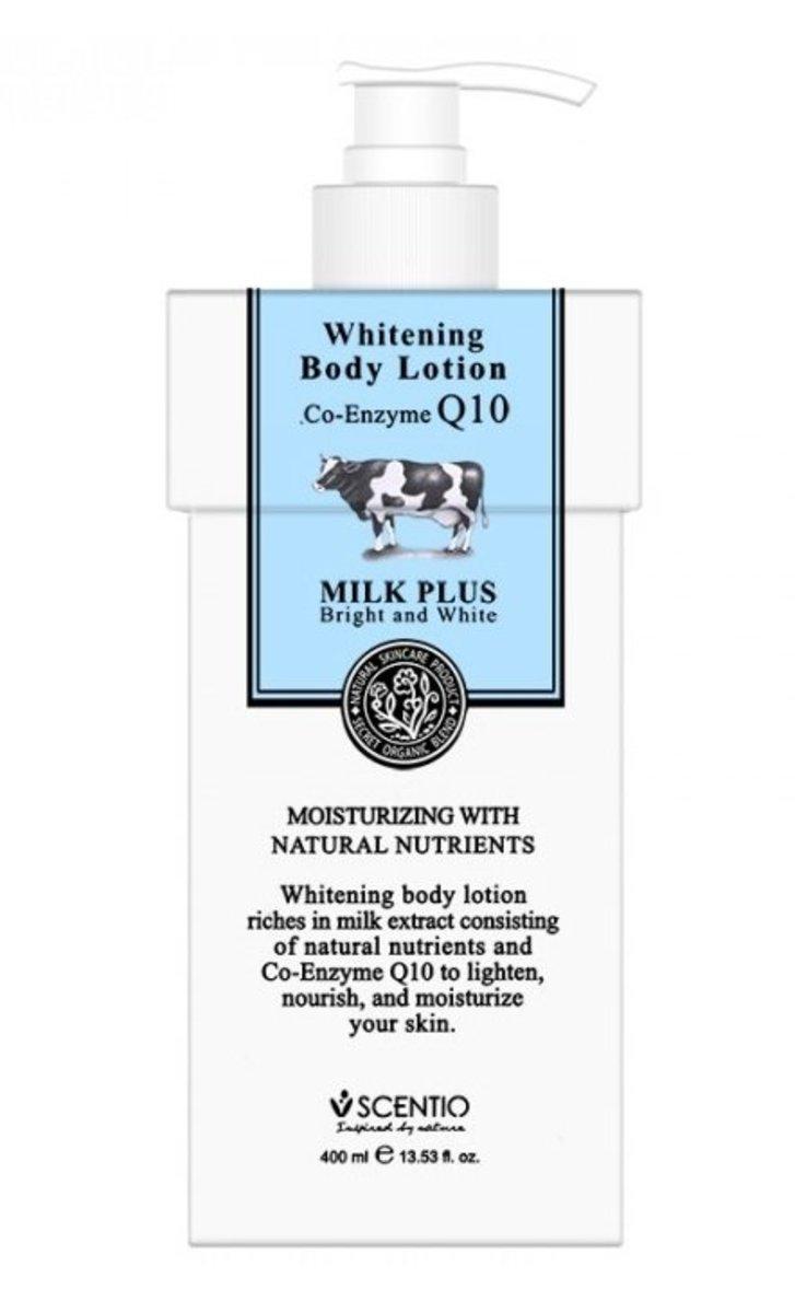 Q10牛奶美白滋潤身體乳 400ml