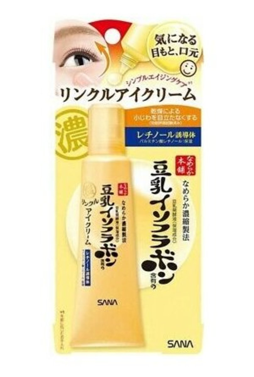 Nameraka Honpo Soy Milk Isoflavone Wrinkle Eye Cream 25g