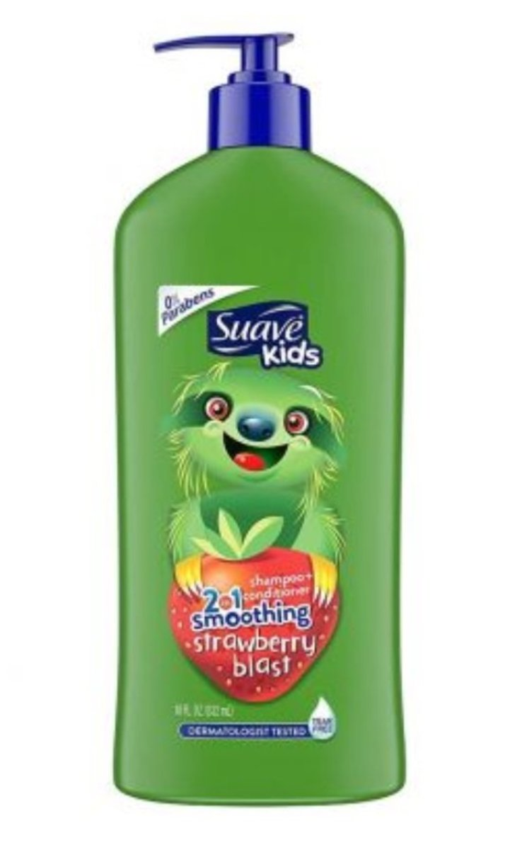 Smoothing Strawberry Blast 2-in-1 Shampoo and Conditioner 532ml