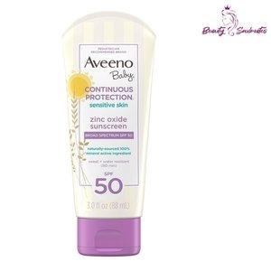 Aveeno 嬰兒氧化鋅礦物SPF 50防曬霜 88ml