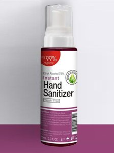 1 bottles of Instant 99% Hand Sanitizer 60ml